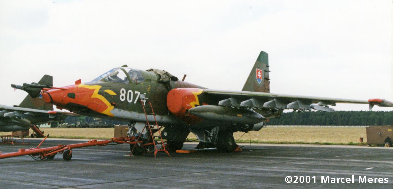 Su-25 8074 Left