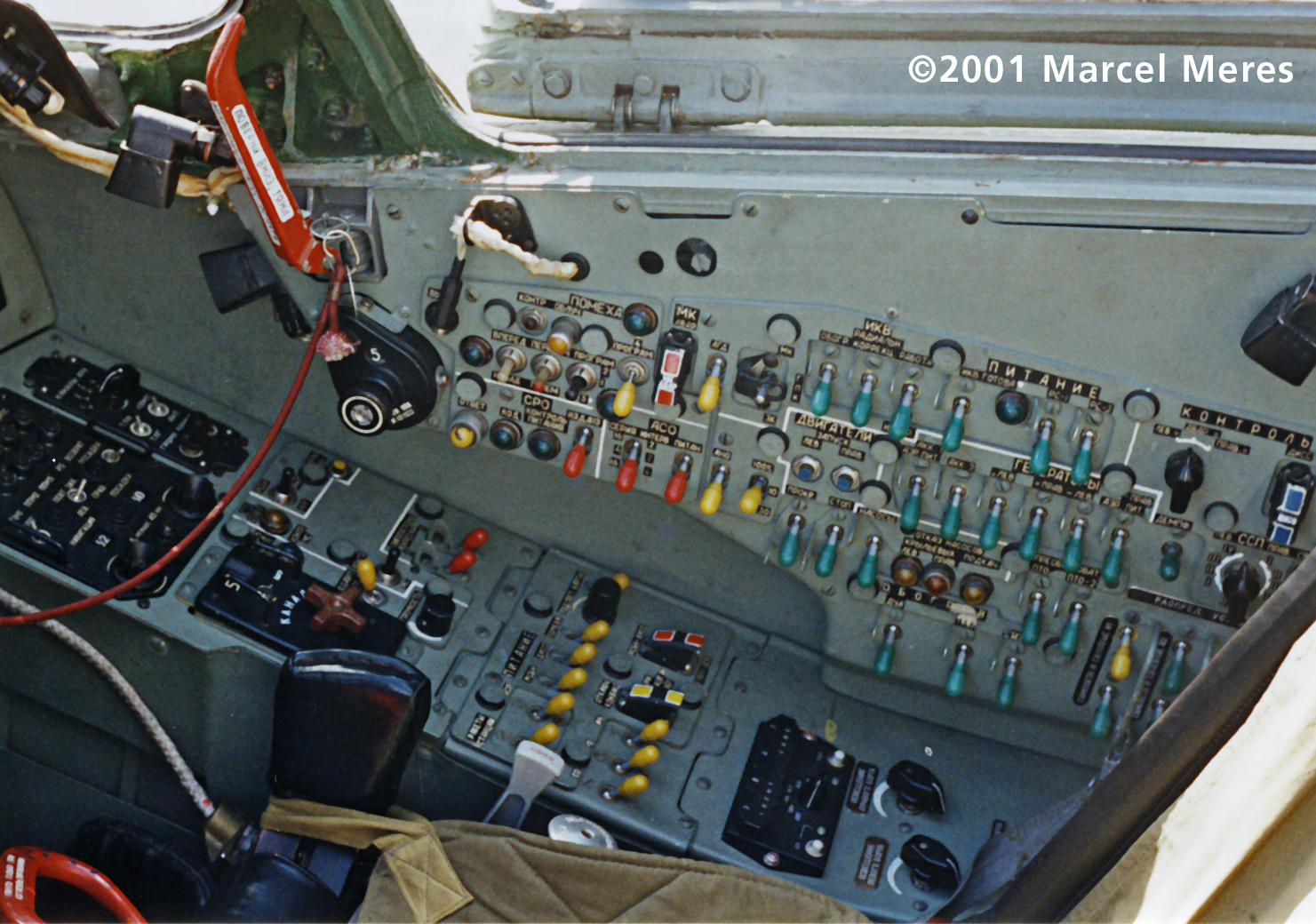 Su-25 Cockpit Right console
