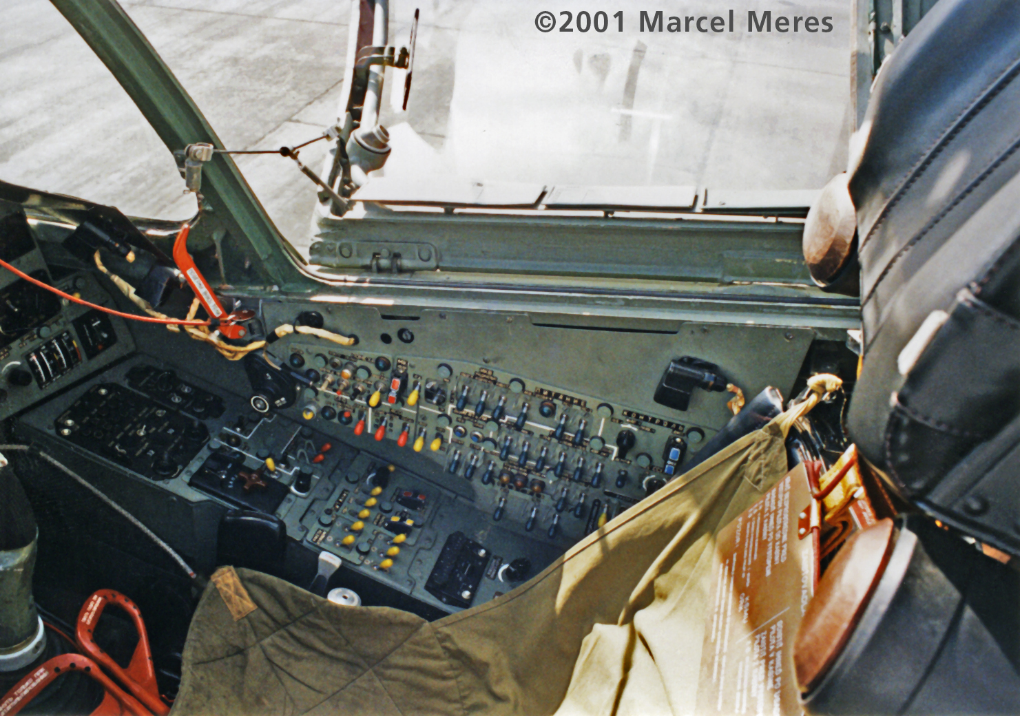 Su-25 Cockpit Right side