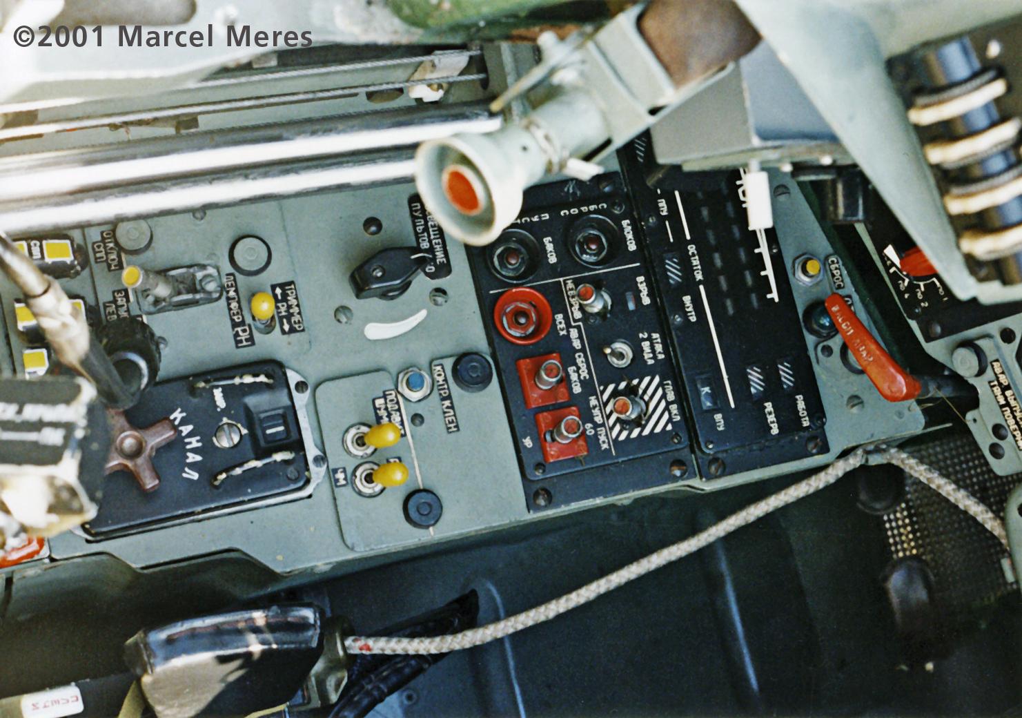 Su-25 Cockpit floor