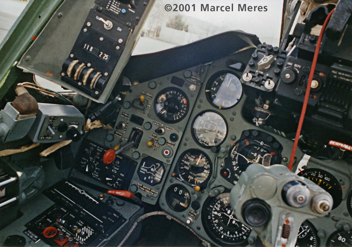 Su-25 Cockpit front left