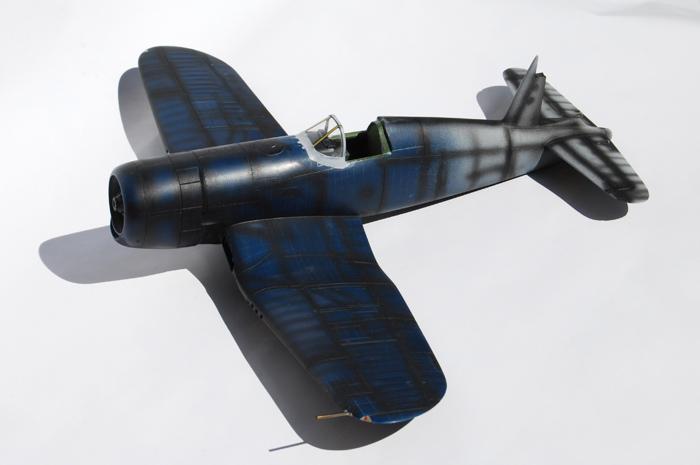 F4U-4 Corsair I. pitot tube, position lights