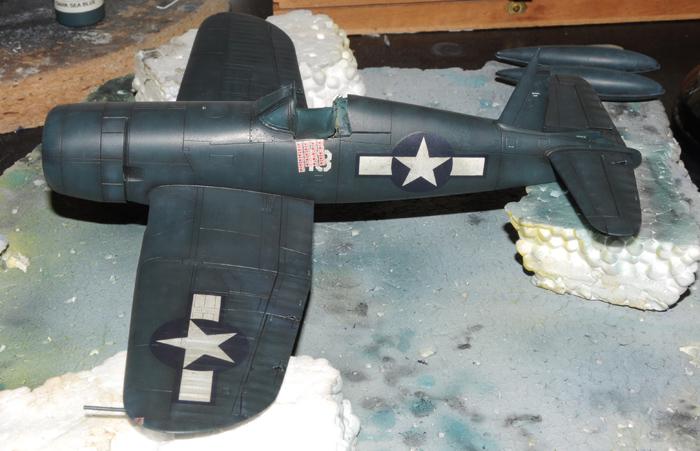 F4U-4 Corsair I. camouflage & patina