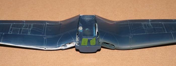 F4U-4 Corsair I. wing air intakes