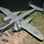 Heinkel He-219, TAMIYA, 1/48 Diorama