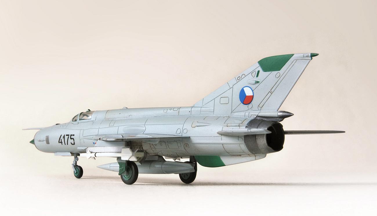MiG-21MF, Eduard, 1/144, 4175 Czech AF
