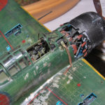 Mitsubishi A6M5 Zero model 52, 1/48, detail photo