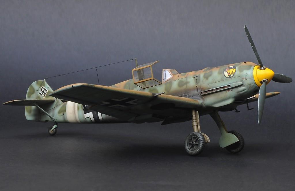 Bf-109E Trop, Hasegawa, 1/48