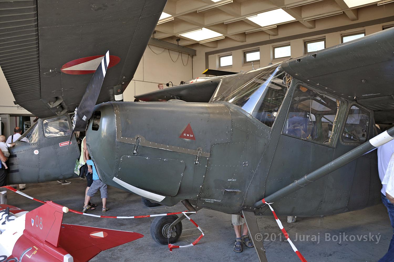 Cessna O-1 / L-19 Bird Dog, Austrian army, Cowling