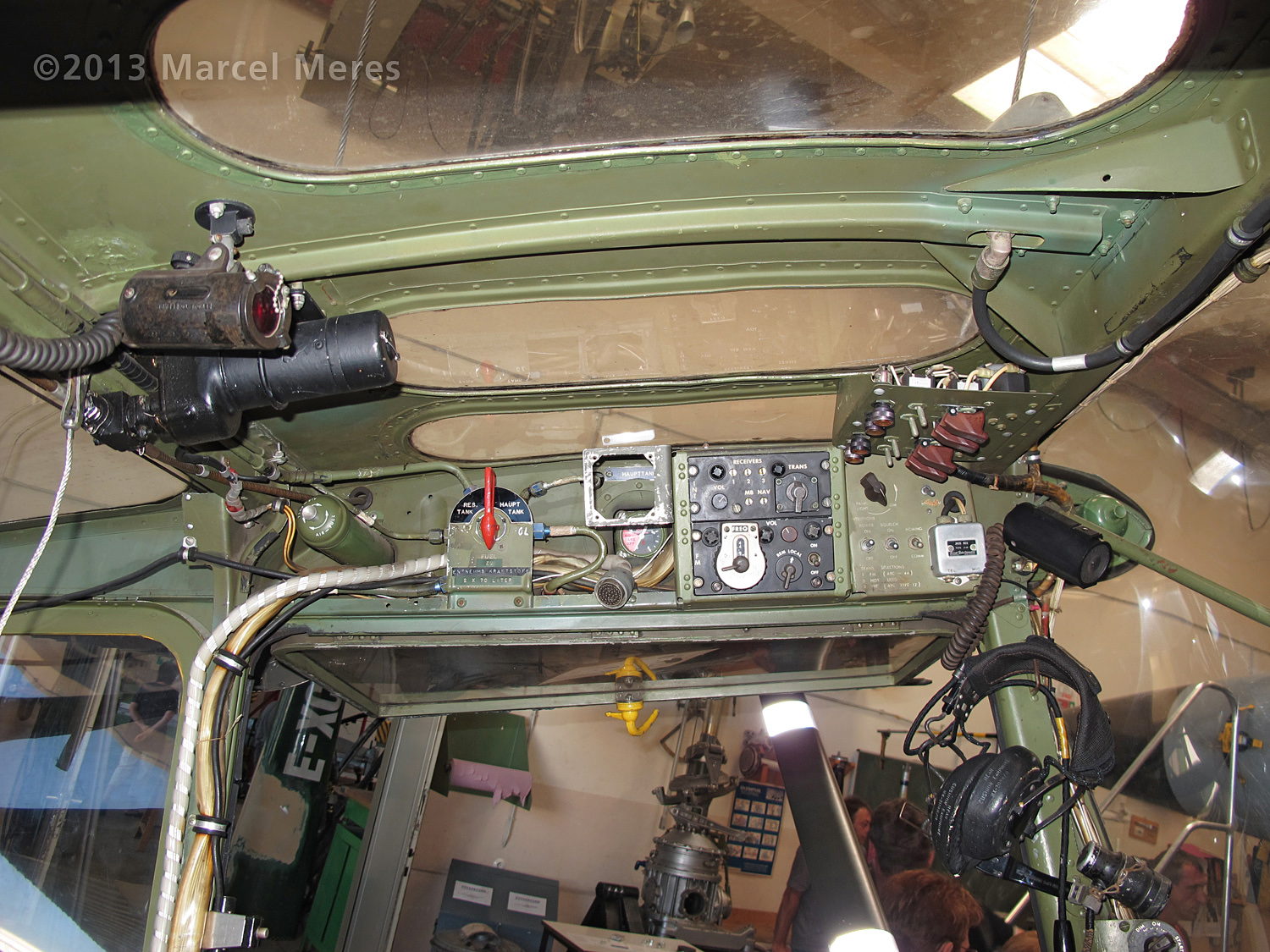 Cessna O-1 / L-19 Bird Dog, Austrian army, Cockpit roof