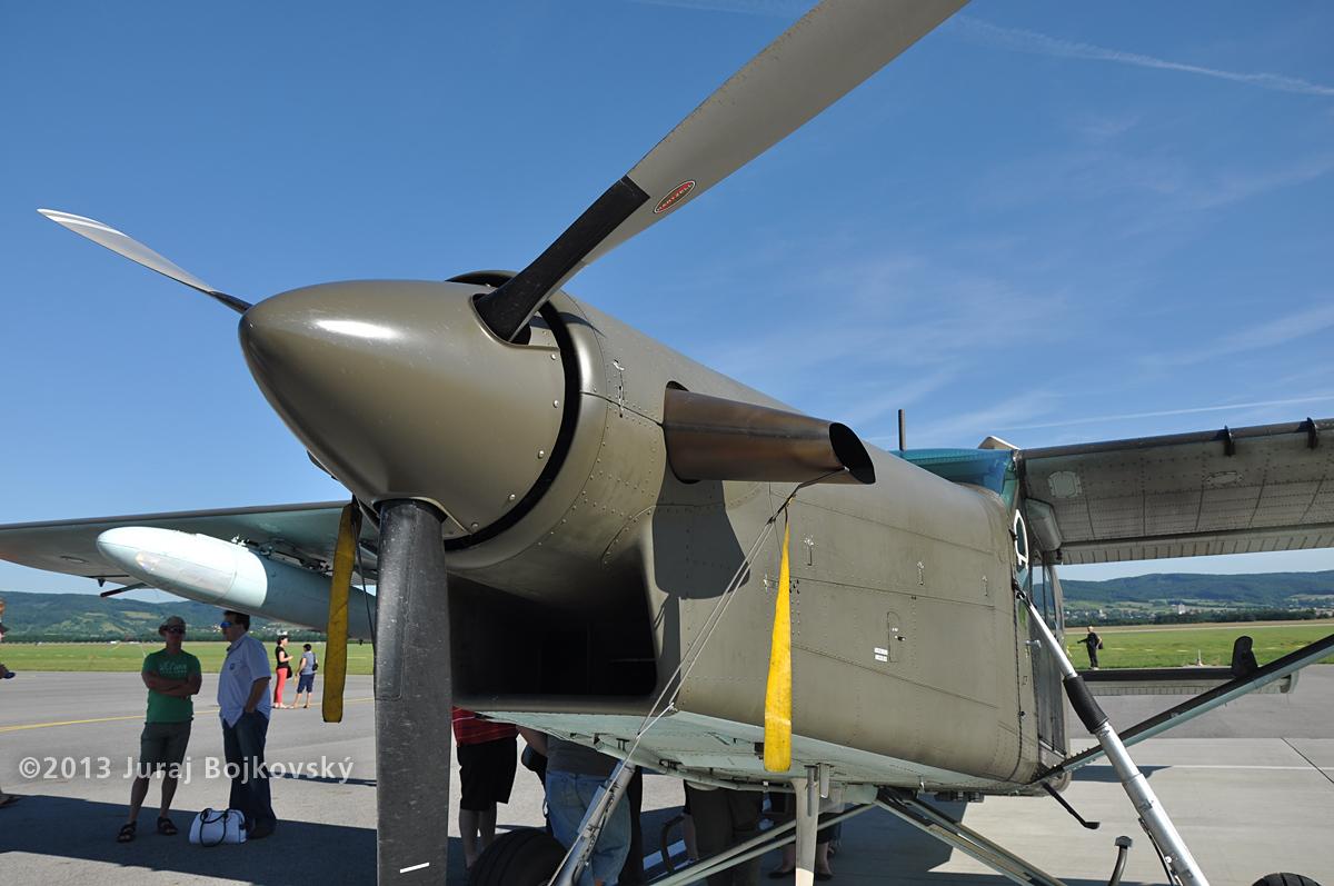 Pilatus Porter, Austrian Army, Air intake