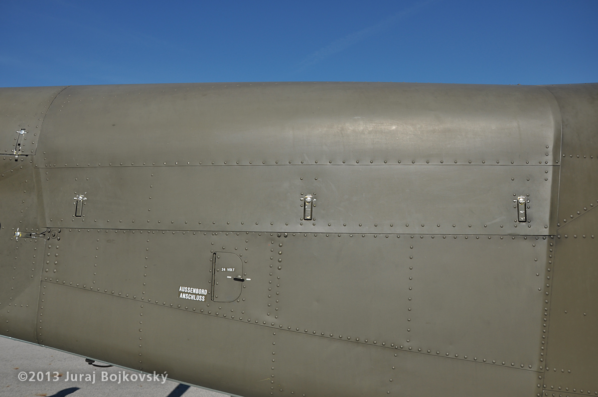Pilatus Porter, Austrian Army, Cowling close-up
