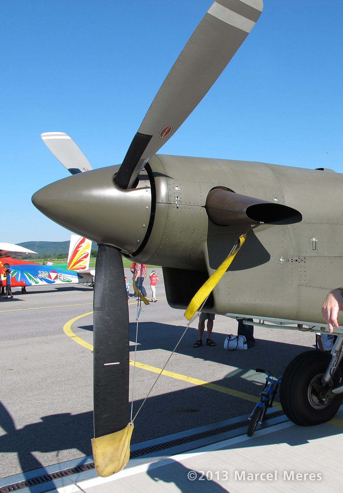 Pilatus Porter, Austrian Army, Propeller
