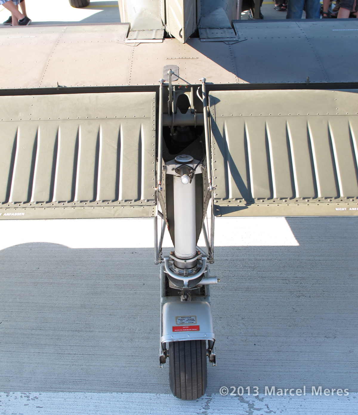 Pilatus Porter, Austrian Army, Elevator, Tail wheel