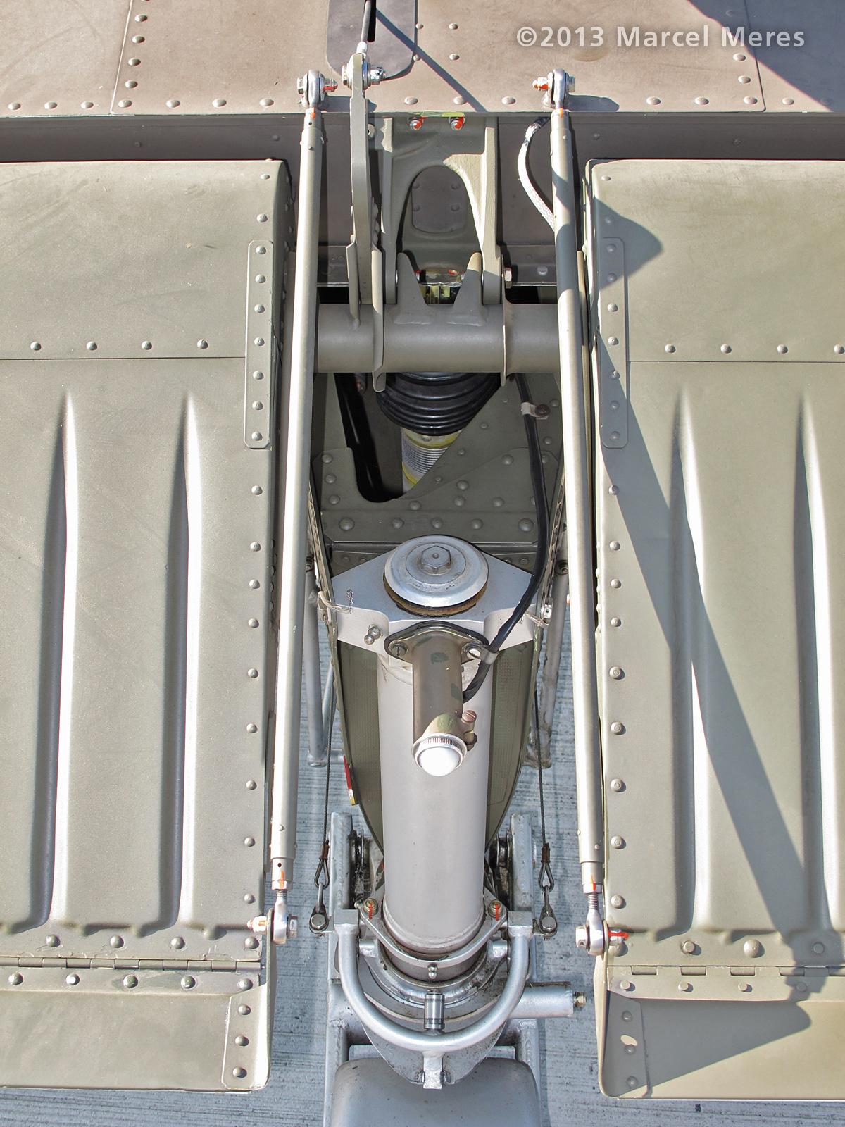 Pilatus Porter, Austrian Army, Elevator, trim mech. top