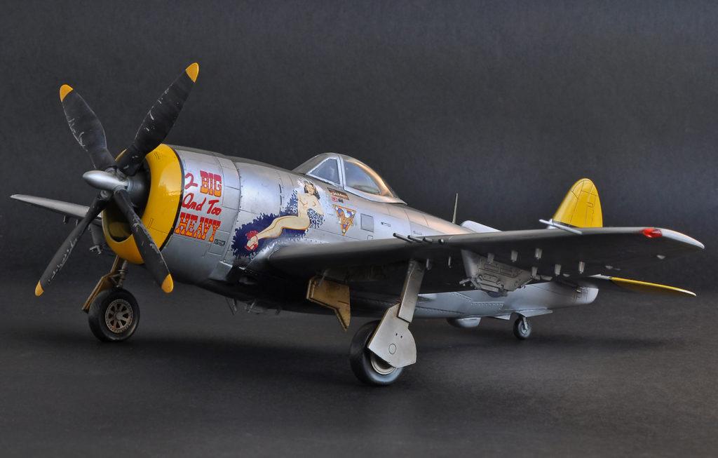 P-47N Thunderbolt, Academy, 1/48