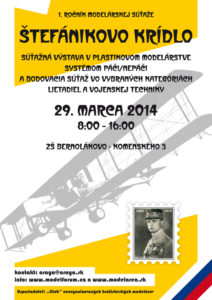 Plagat Stefanikovo kridlo 2014