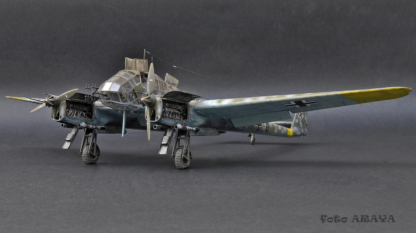 Fw 189A-1 Nachtjäger, Great Wall Hobby, 1/48