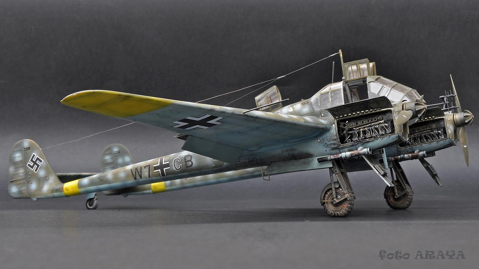 Fw 189A-1 Nacht Jäger, Great Wall Hobby, 1/48