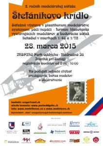 Plagát Štefánikovo krídlo 2015