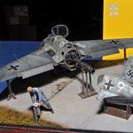 Me-163B Komet, 1/32 dioráma
