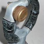 Spade grip, Hurricane, model R. Čulen, detail