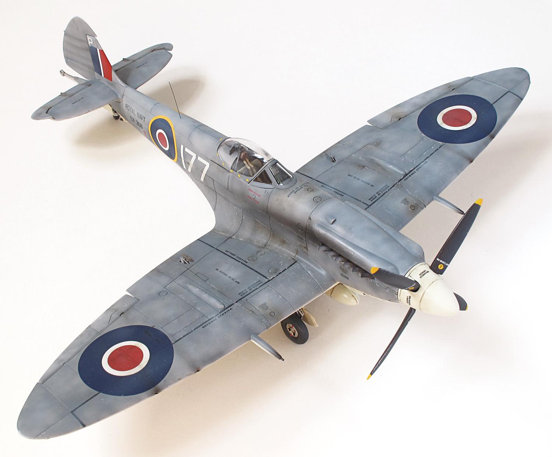 Supermarine Seafire FXVII, Airfix, 1/48