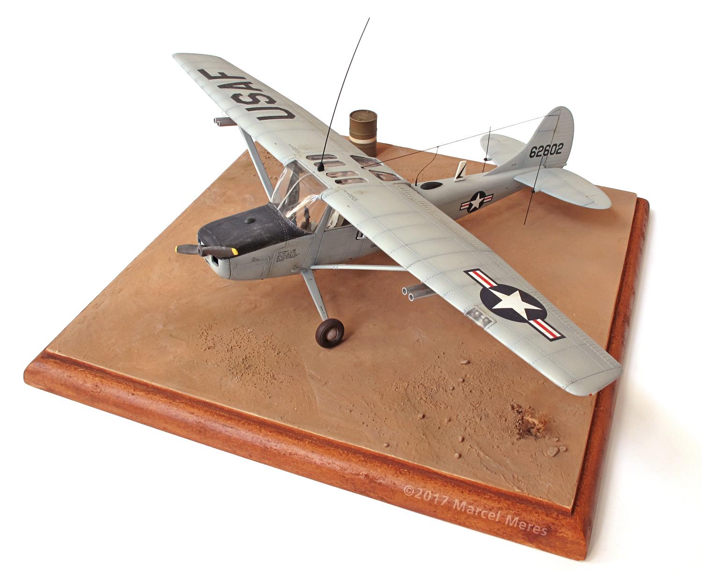 Cessna O-1E Bird Dog, port