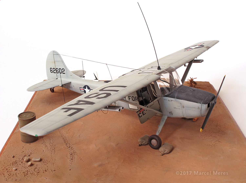 Cessna O-1E Bird Dog, starboard