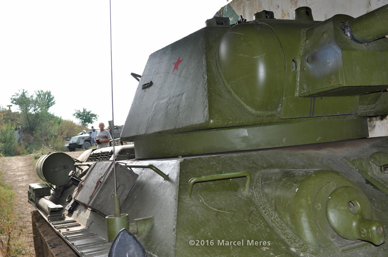 Tank T-34/76 spredu