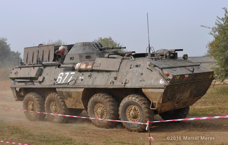 OT-64 SKOT pravá strana, predok