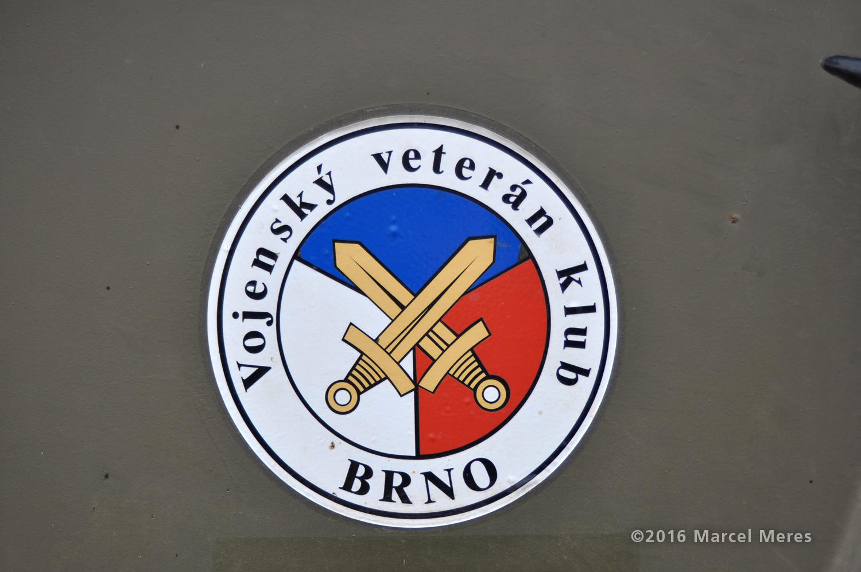 Znak Vojenský veterán klub Brno