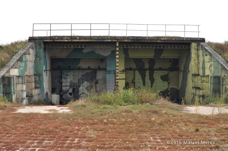 Dvojitý kryt / bunker PVO