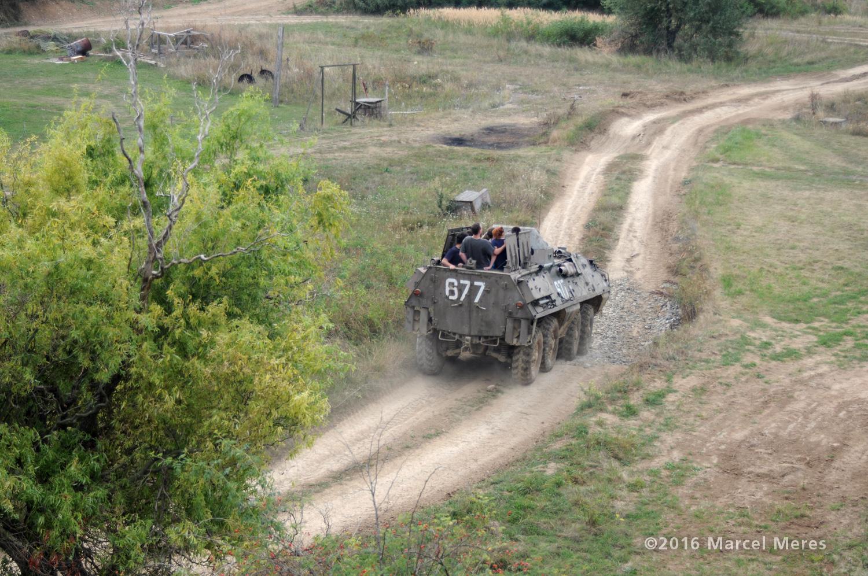 Jazda na OT-64 SKOT