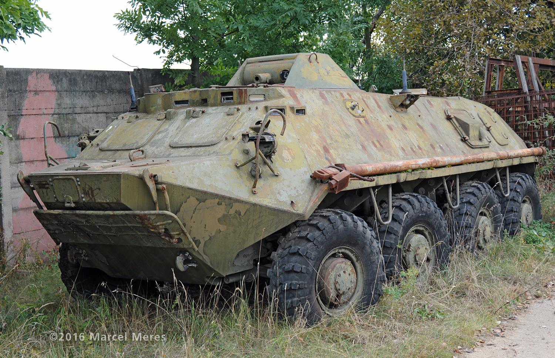 BTR 60 ľavý bok, predok