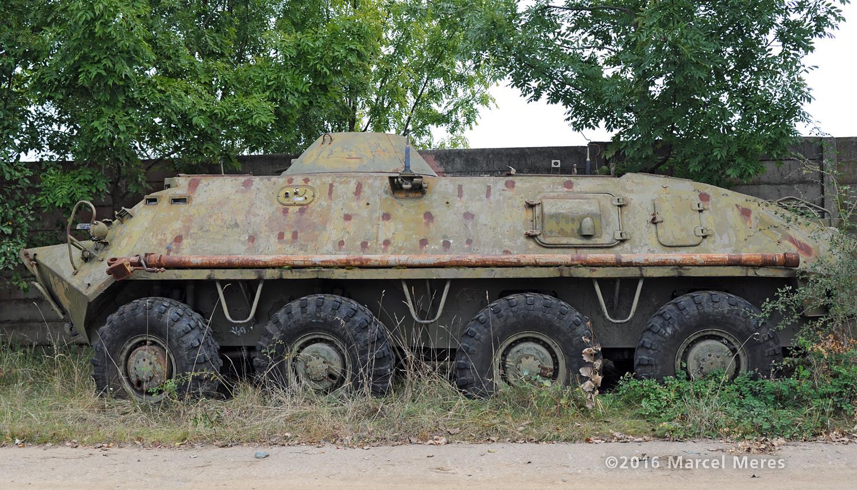 BTR 60 ľavý bok