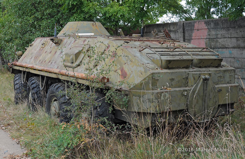 BTR 60 ľavý bok, zadok