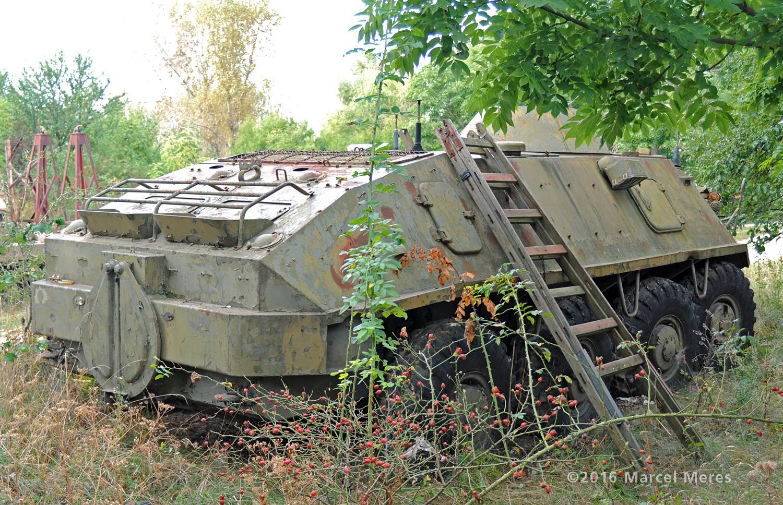 BTR 60 zadok, pravý bok