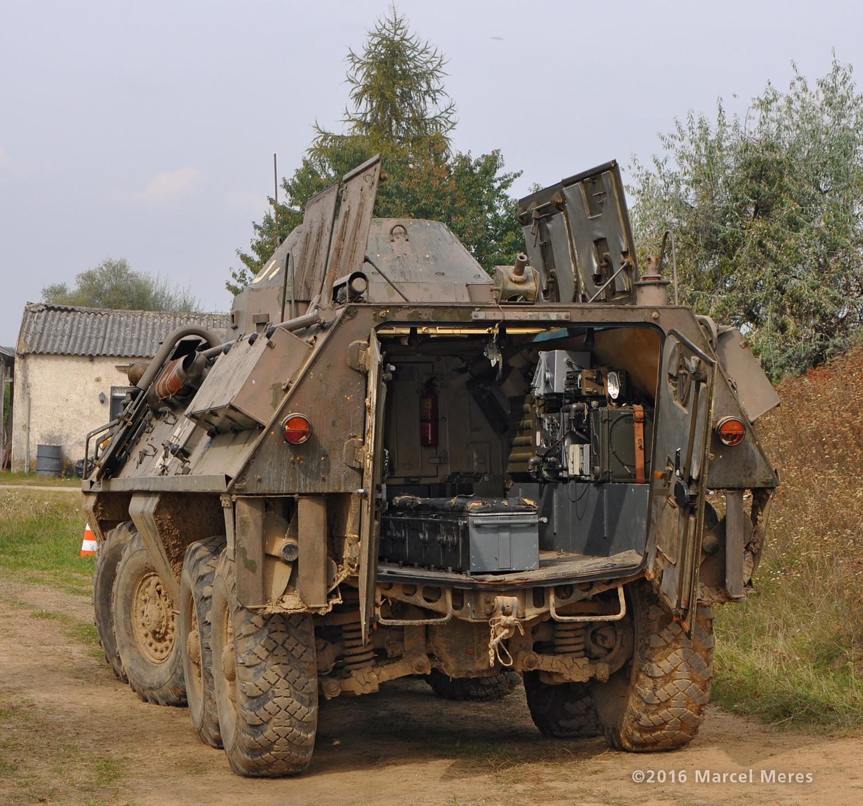 OT-64 SKOT, zadok, vnútro