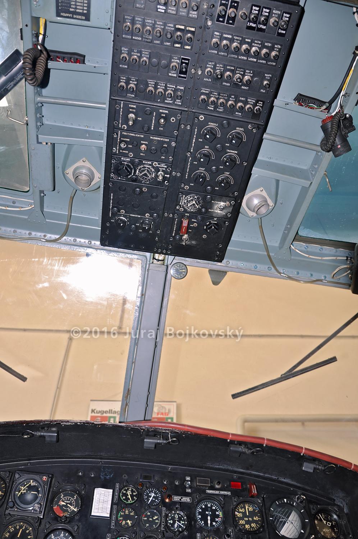 UH-1B Upper Console