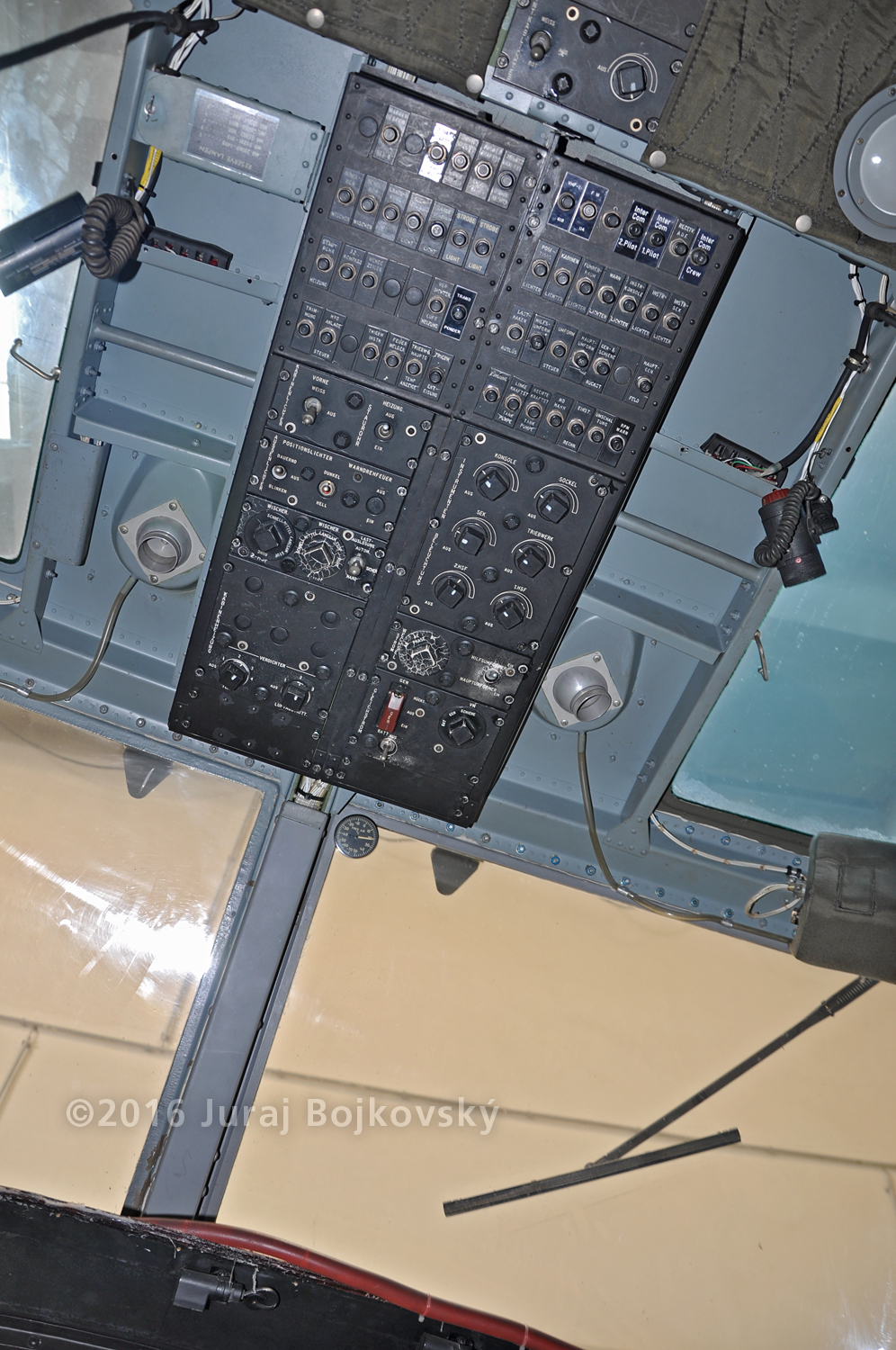 UH-1B Upper Console, whole
