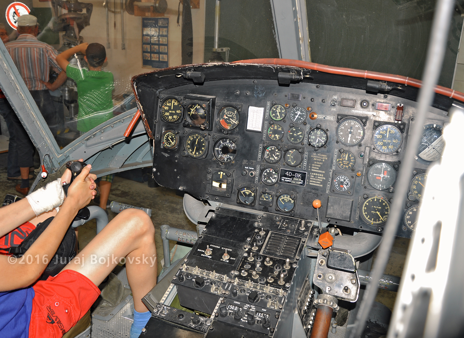UH-1B Main Instrument panel, Left portion