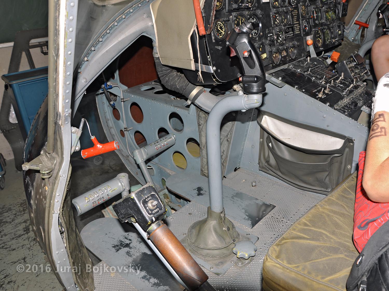 UH-1B Control stick