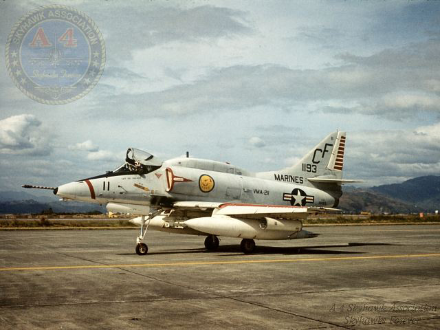 A-4E_VMA211_151193_assigned to CAPT Bill Callahan